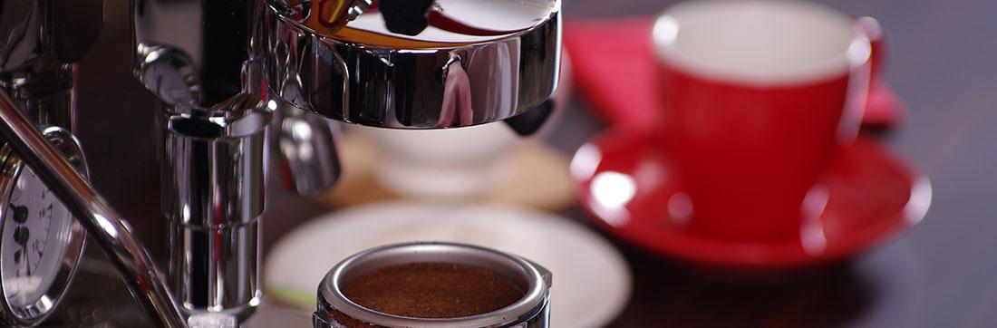 ניקוי למכונת קפה